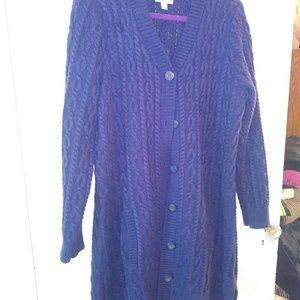 Cardigan Sweater - Large